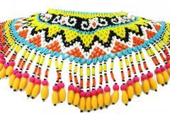 Fairtrade Womens Borneo Tribal Dayak Ceremonial Warrior Necklace Art Artifact